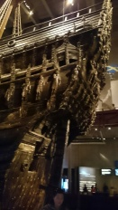 Close up of the Vasa's sterncastle. Copyright: Cas Blomberg