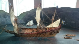 Model of the Vasa, copyright Cas Blomberg
